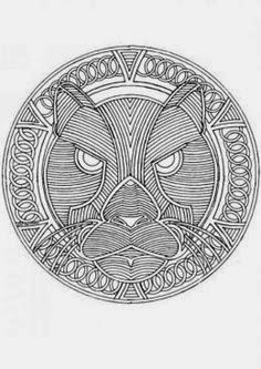 free printable mandala animal coloring pages coloring.filminspector.com
