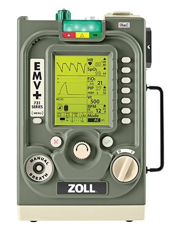 ZOLL EMV Ventilators Added to KCEMS units
