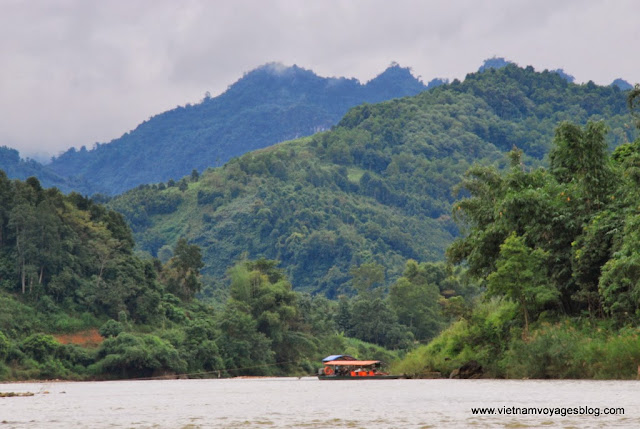 Croisière dans la rivière Chảy, Bắc Hà - Photo An Bui
