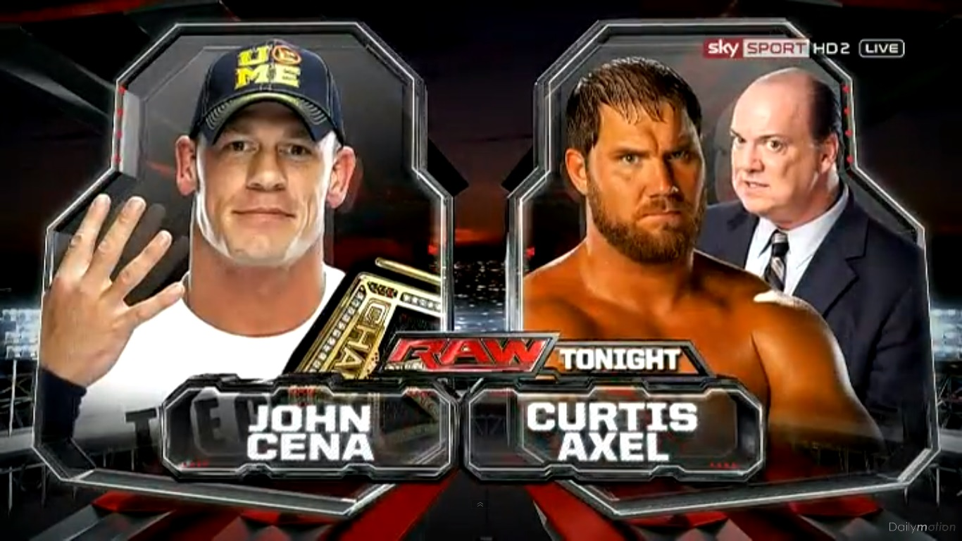 For the second time in as many weeks curtis axel main evented monday night raw against a bona fide future hall of famer however once again it was more
