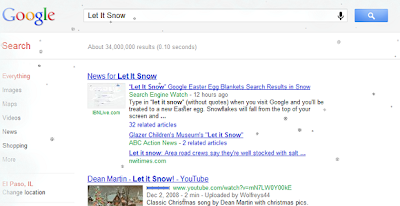 Let It Snow In Google
