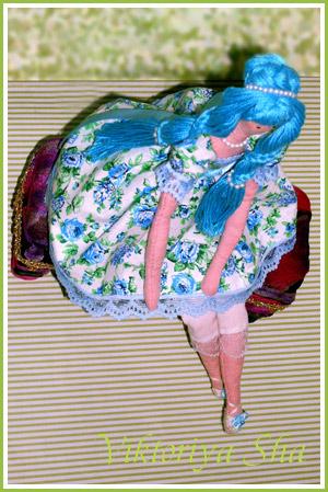 текстильная кукла Тильда - Ленора