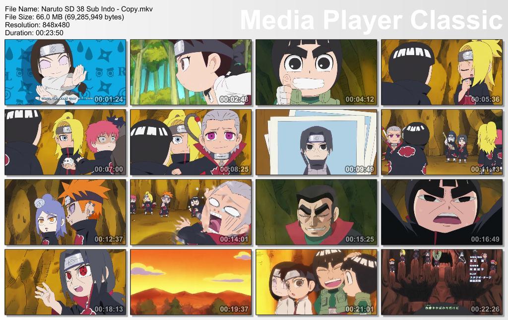 Naruto SD Episode 38 Subtitle Indonesia - Sahabat Narutonian, Naruto
