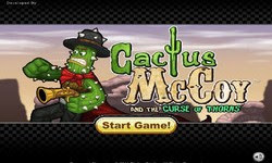 Screenshots of the Cactus Mccoy for Android tablet, phone.