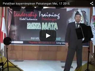 Video Pelatihan Kepemimpinan MMM Mavrodian Indonesia Di Pekalongan Tanggal 17 Mei 2015
