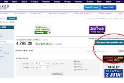 Cara Mudah Kumpulkan Data Harga Saham dari Yahoo Finance
