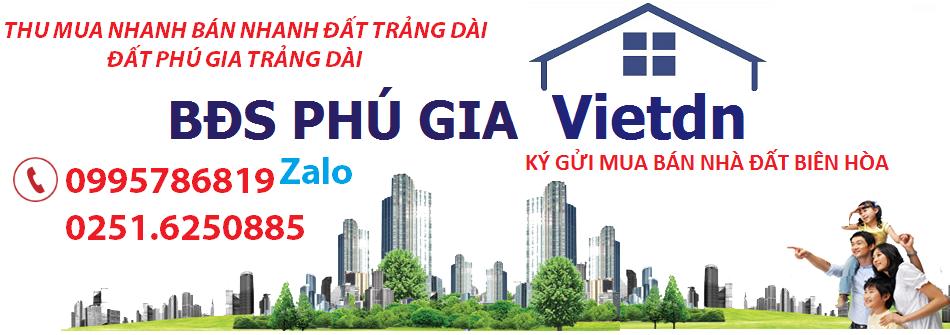 Sàn ký gửi BĐS Phú Gia Vietdn Biên Hòa