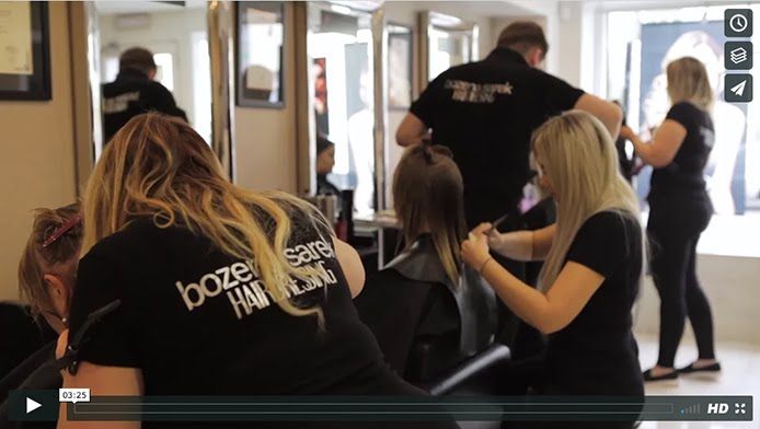 Bozena Sarek Hairdressing video promo