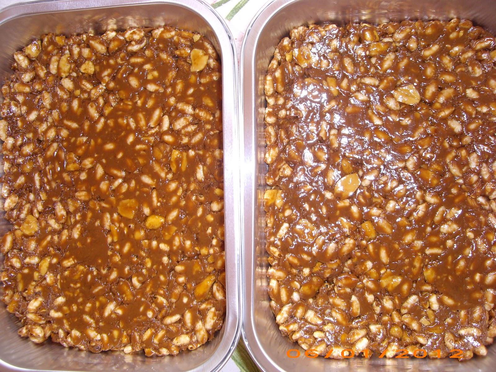 Popolare cibo che fa sognare  senza glutine: CROCCANTINI CON SNICKERS E  TI83