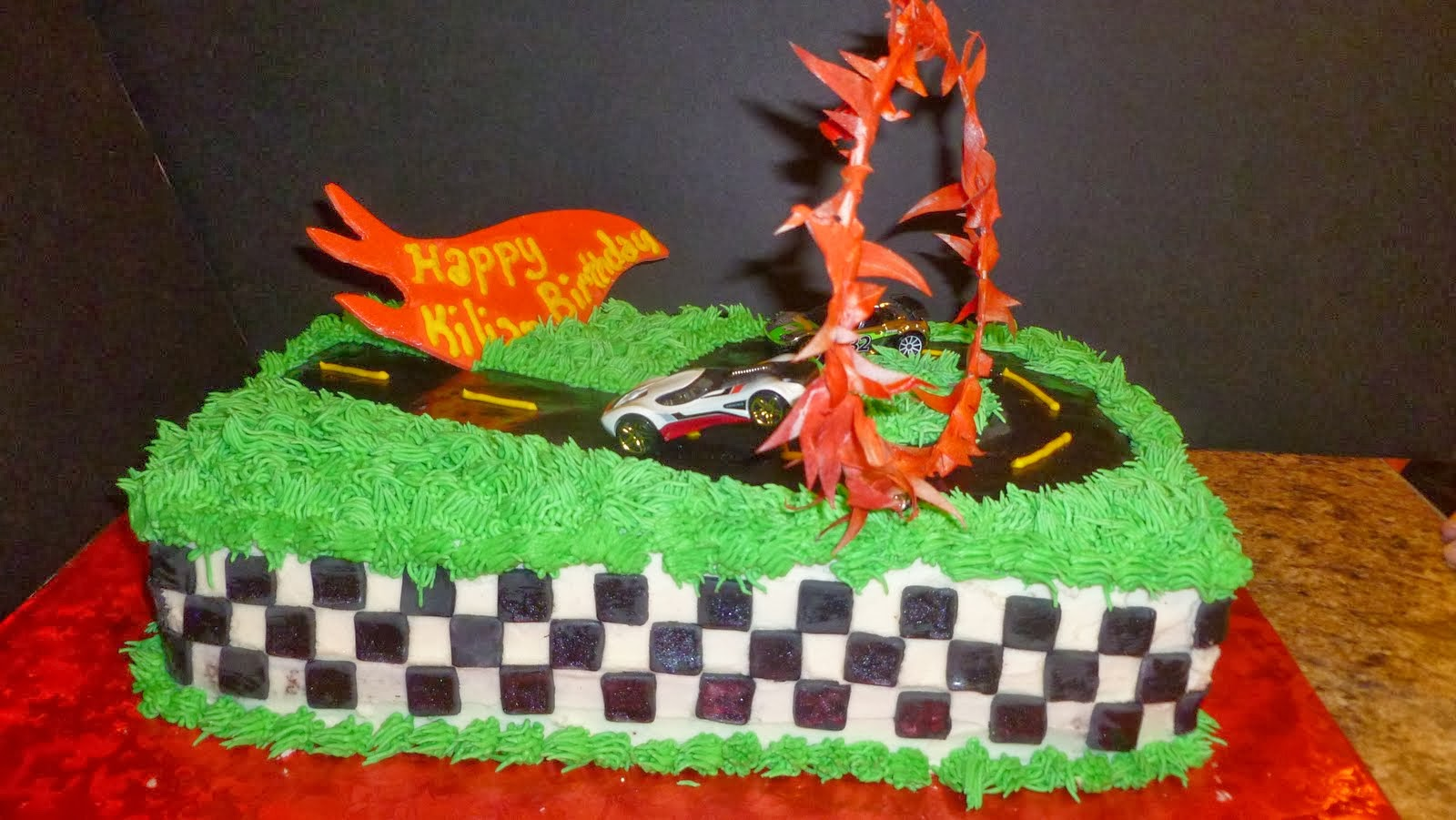 Tortas Hot Wheels, parte 3