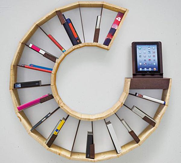 Racconto Plurale Bookcase on Design and fashion recipes