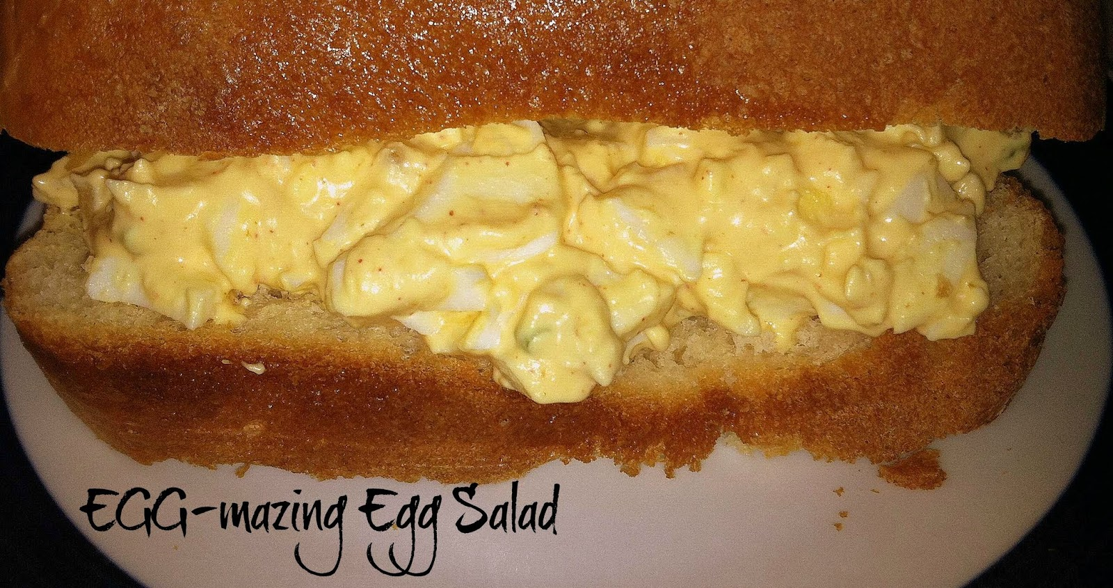 Egg-mazing Egg Salad | Sugar for Breakfast: Egg-mazing Egg Salad