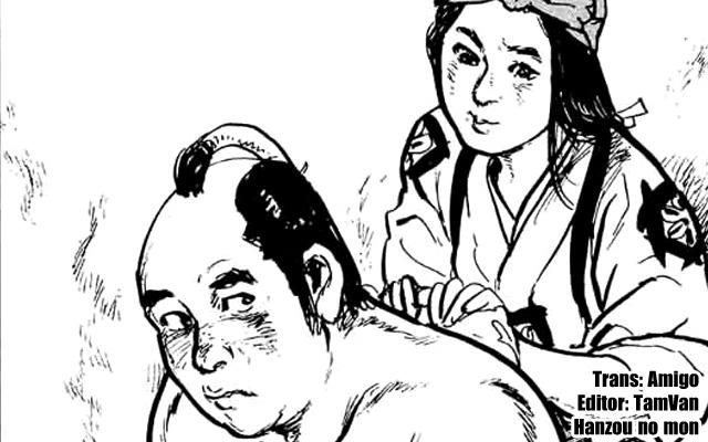 Hanzou no Mon, manga, truyện tranh, ninja, võ thuật, lịch sử