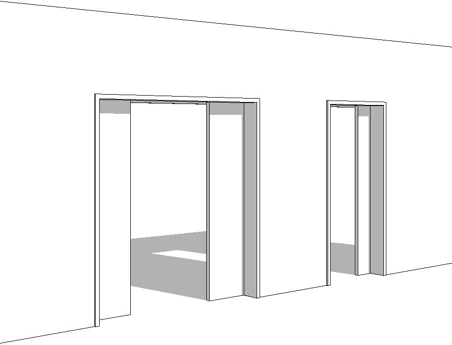 revit m mo revit 2015 famille porte coulissante 2 vantaux param trique. Black Bedroom Furniture Sets. Home Design Ideas