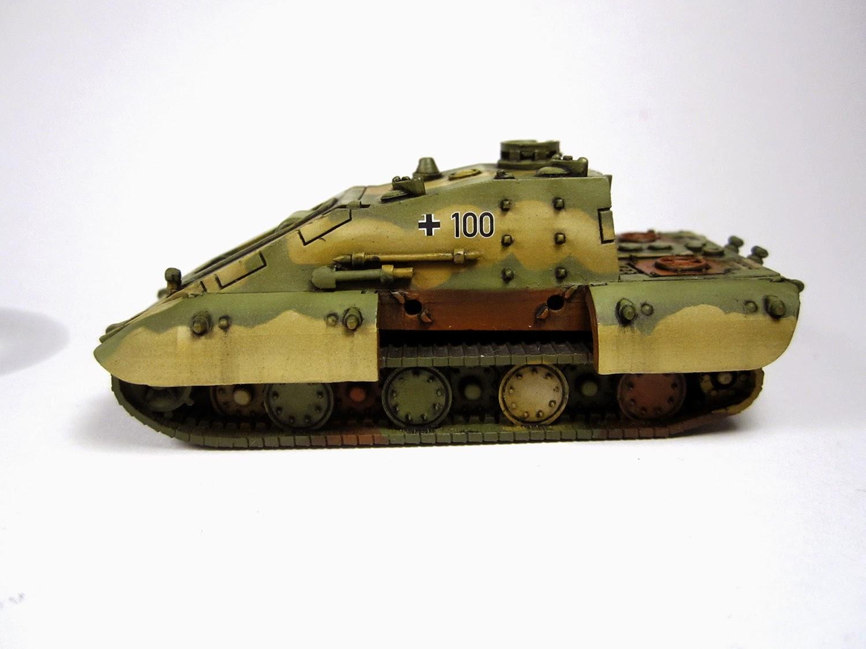 Panzer March!: E-100 Krokodil - Heer46 - E100JK - Pin Wash