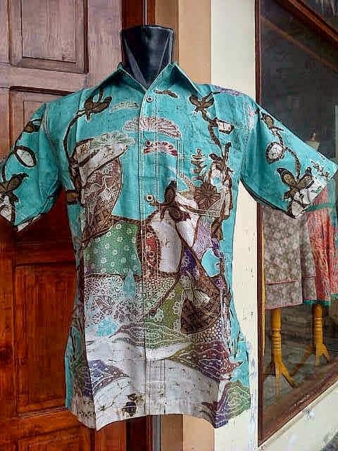 Baju Batik Hijau