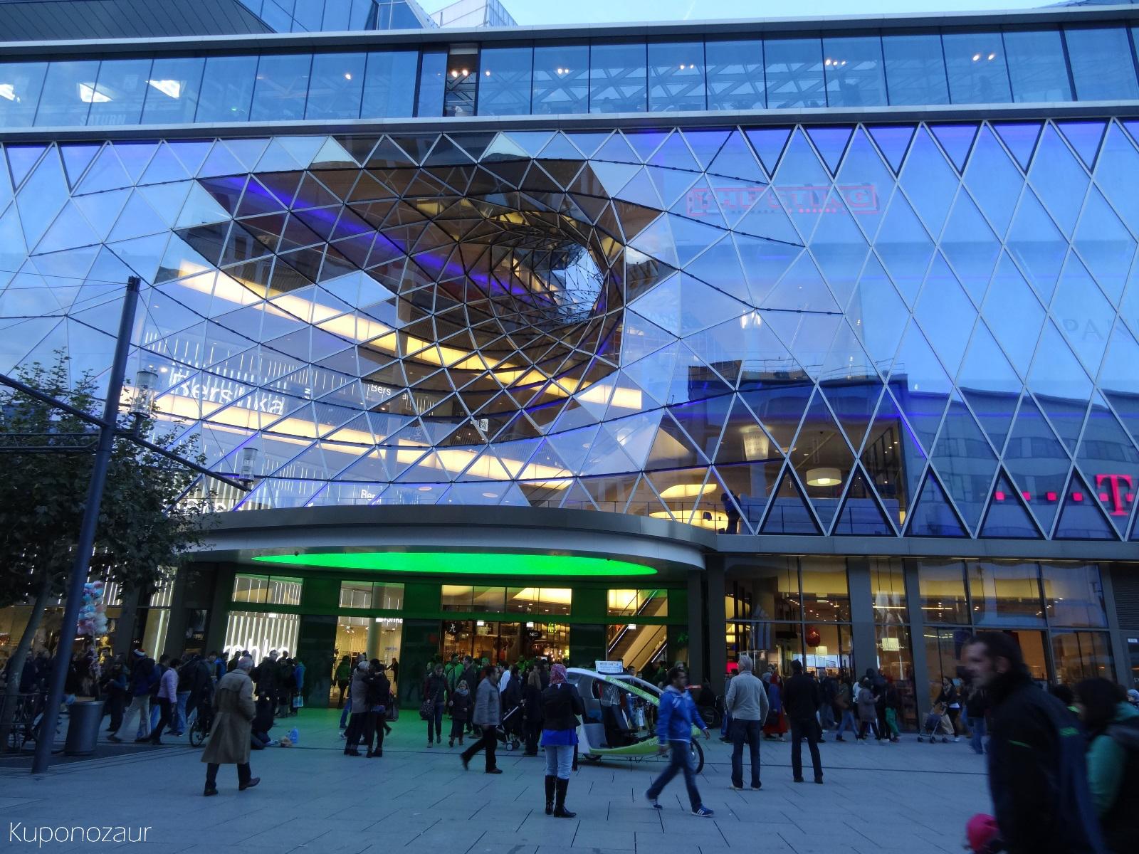 Frankfurt centrum handlowe MyZeil