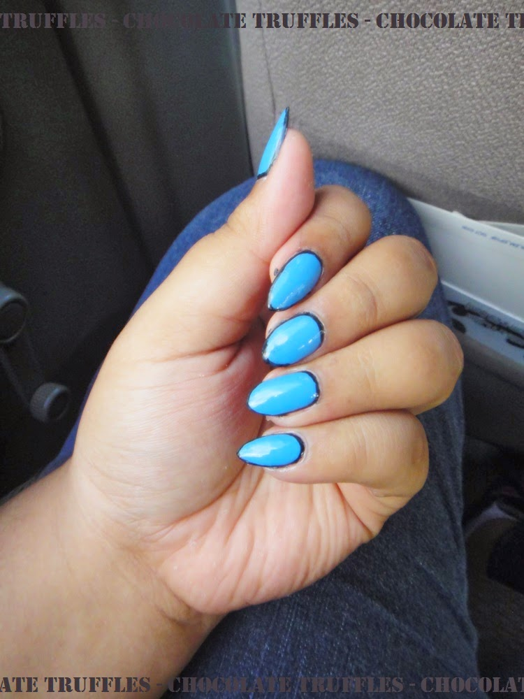 Chocolate Truffle Nails: Katy Perry Dark Horse Blue ...
