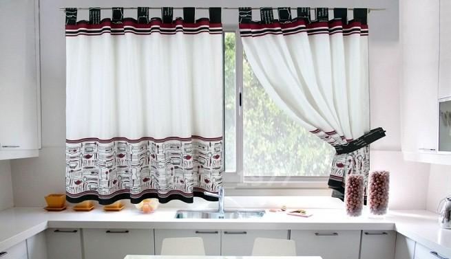Sanaire c mo lavar las cortinas de la cocina for Cortinas vintage salon