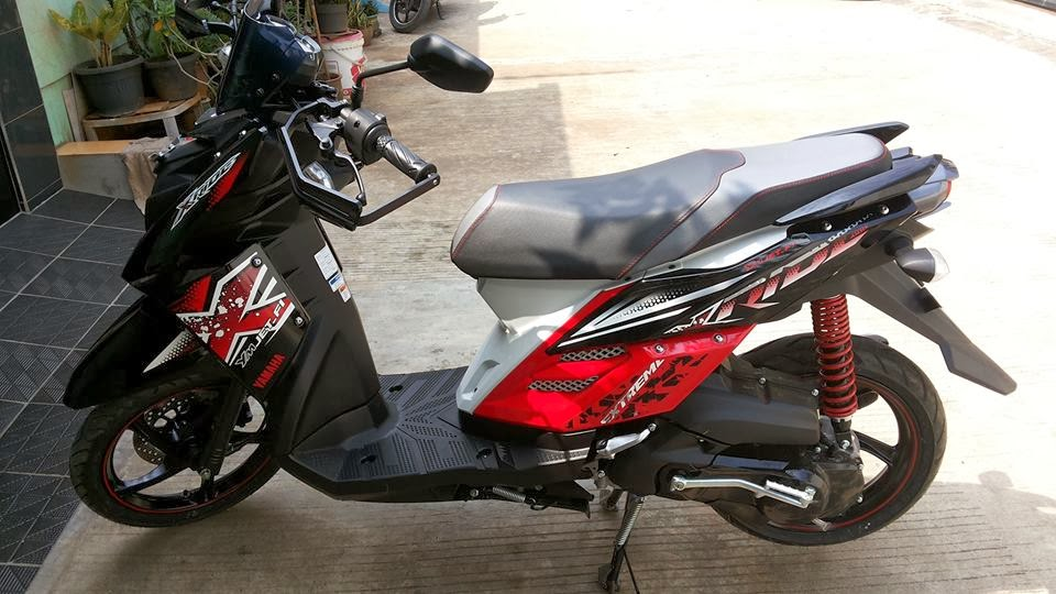 Modifikasi Motor X Ride