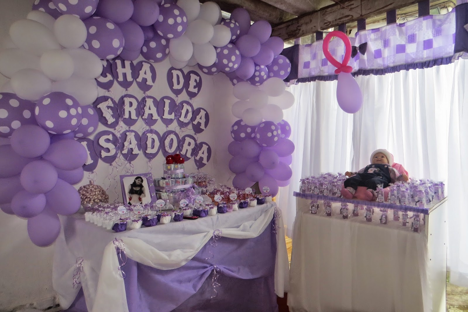 Sol Criativa Chá De Fralda Para Meninas Criação Do Convite
