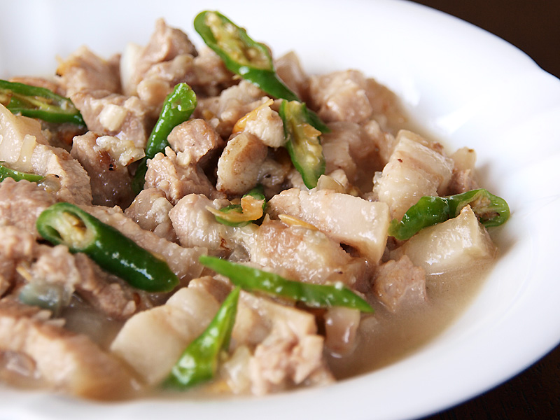 Bicol Express for Valentine's Day 2014