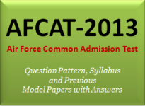 AFCAT Air Force Entrance Exam