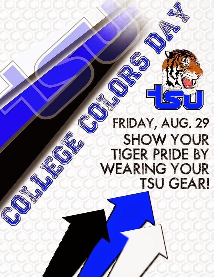 TSU College Colors Day