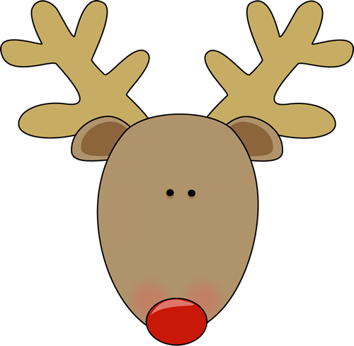 Reindeer Face Template Have a reindeer face and