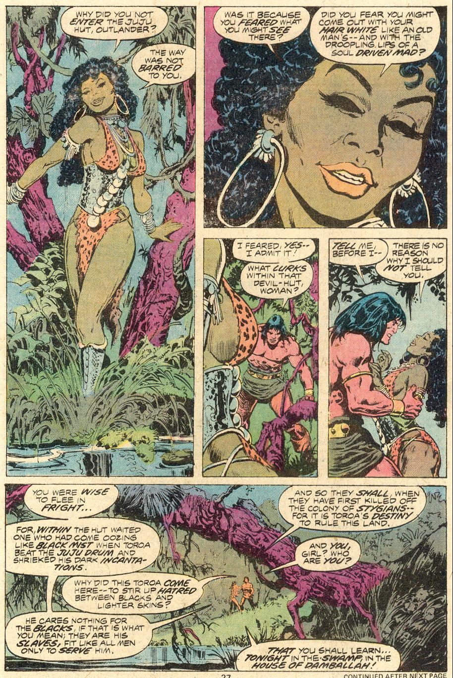 Conan the Barbarian (1970) Issue #82 #94 - English 18