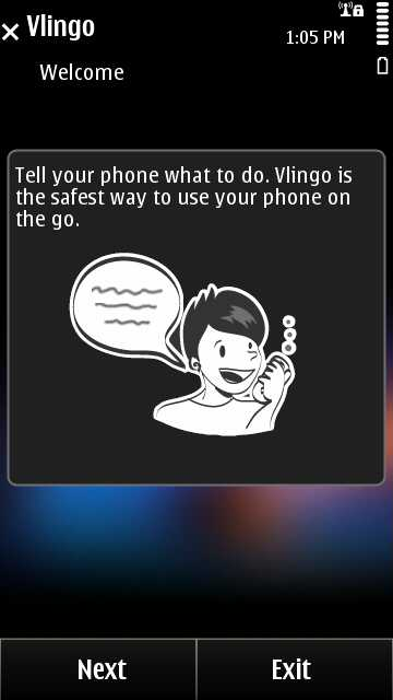Vlingo Screen shot1