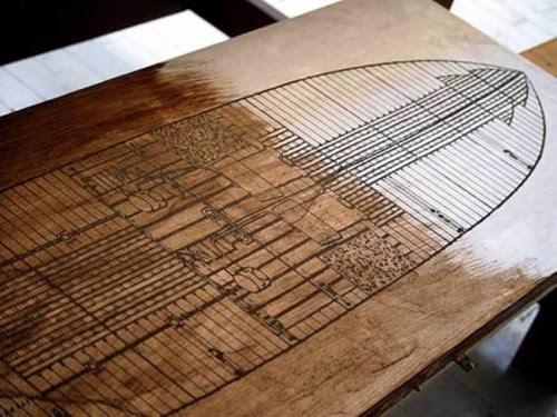 7 najciekawszych stołów decoupage - inspiracje! Styl vintage w decoupage.