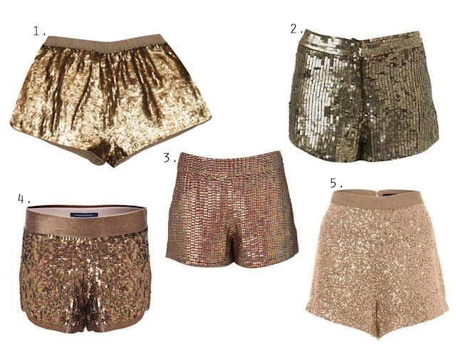 Glitter Shorts - Meandlex Sequin Shorts