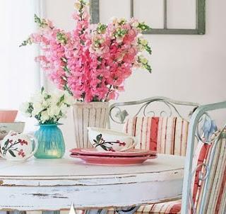 betterhomes Como decorar a casa com flores.