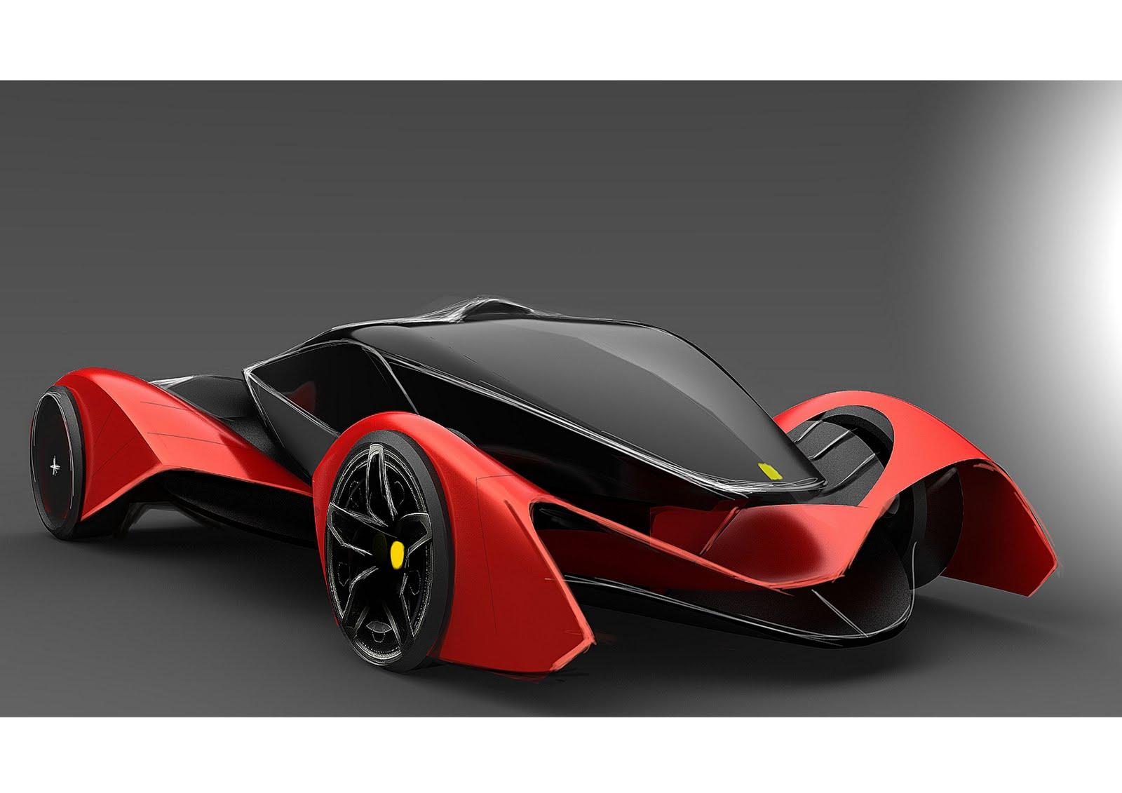 Car design and my life ferrari for Coupe architecture