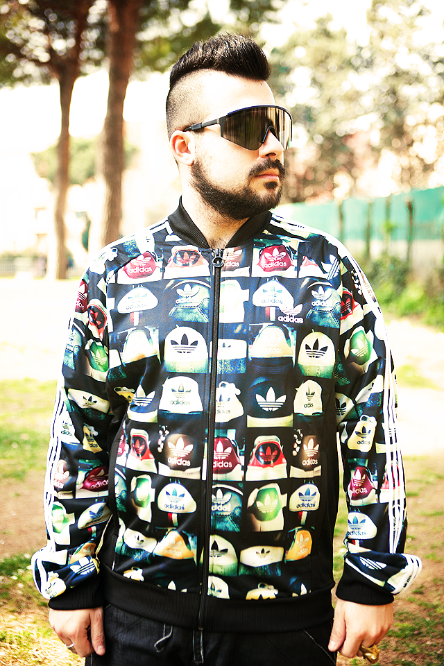 Hoodboyz, Outfit, Fashion blogger, Guy Overboard, Adidas AOP Tracktop Jacket