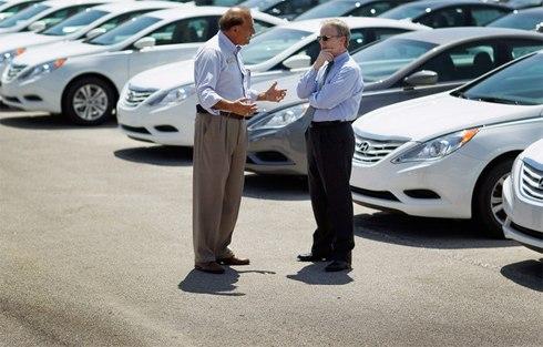 Top sai lầm khi mua xe hơi