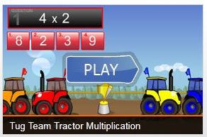 Trator da multiplicação
