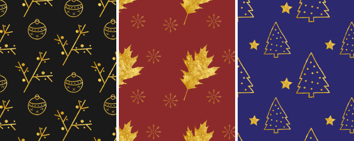 Christmas Patterns - yuniquelysweet.blogspot.com