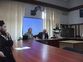 Aspecte din timpul şedinţei CNHGS-Iaşi, 11 sept. 2012..
