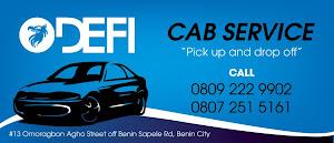 DEFI CAB SERVICE