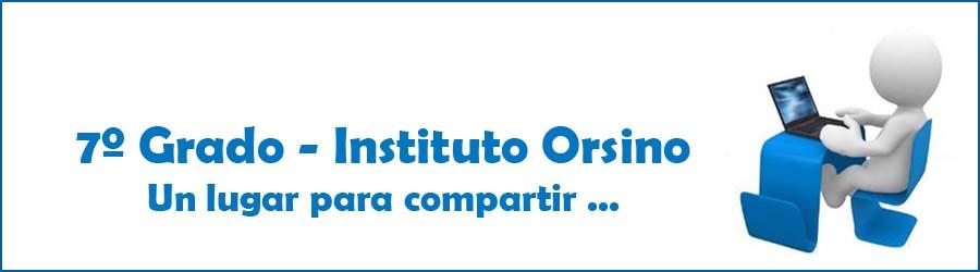 Instituto Orsino - 7º Grado