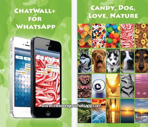 Fondos dulces y bonitos con ChatWall for WhatsApp