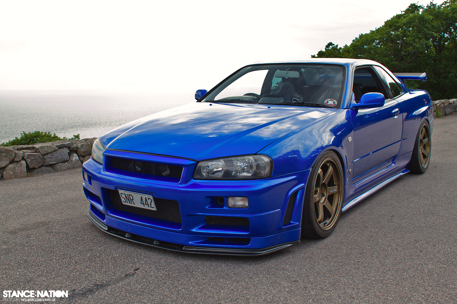 Blue Nissan Skyline R34 For Sale | Autos Weblog