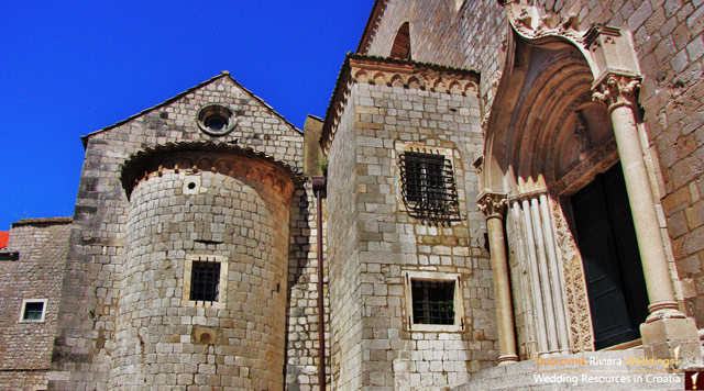 Choosing a church for your wedding in Dubrovnik