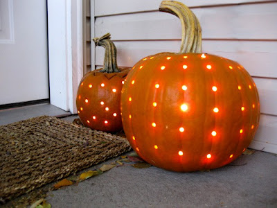 lighted pumpkin carving