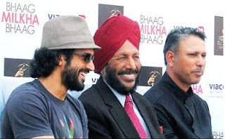 Bhaag Milkha Bhaag Farhan Akhtar & Milkha Singh