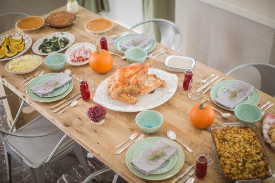 Image by John Robinson & DIY: Fresh Rosemary Sprig Place Settings | 17 Apart