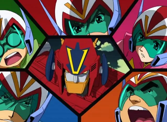 Voltes V Cartoon Characters : Combattler v opening reanimated jefusion