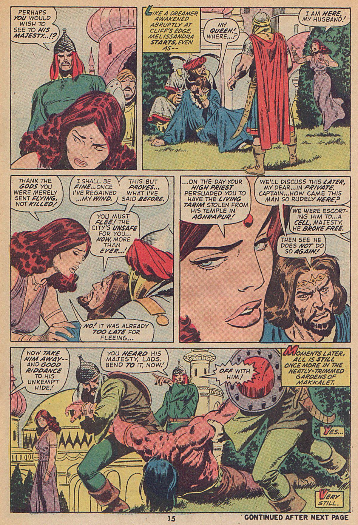 Conan the Barbarian (1970) Issue #25 #37 - English 12